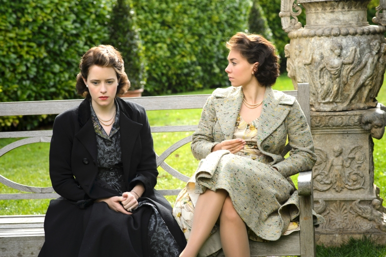 "Claire Foy and Vanessa Kirby, ""The Crown"""