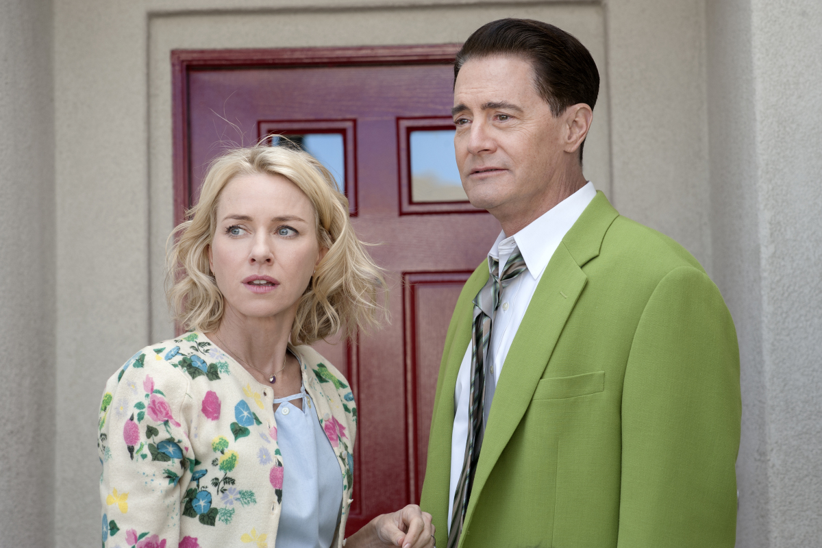 Naomi Watts and Kyle MacLachlan in Twin Peaks