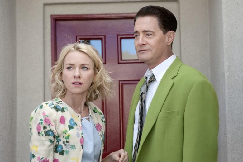 Naomi Watts and Kyle MacLachlan in Twin Peaks
