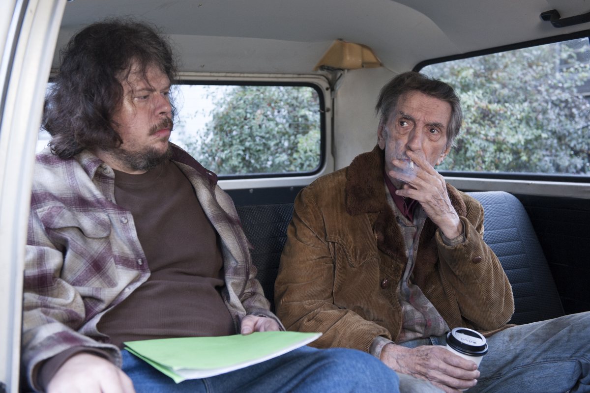 """Jeremy Lindholm and Harry Dean Stanton, """"Twin Peaks"""""""