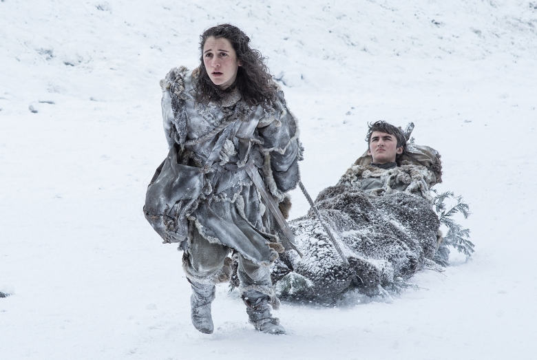 """Ellie Kendrick and Isaac Hempstead Wright, """"Game of Thrones"""""""