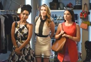 "Aisha Dee, Meghann Fahy and Katie Stevens, ""The Bold Type"""