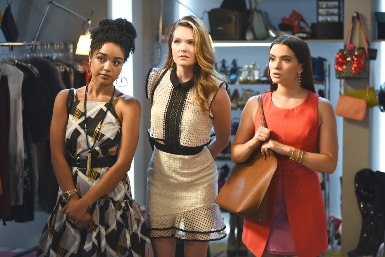 "Aisha Dee, Meghann Fahy and Katie Stevens, ""The Bold Type"""