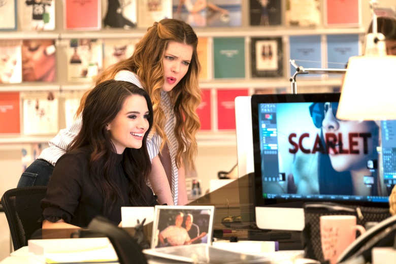 "Katie Stevens and Meghan Fahy, ""The Bold Type"""