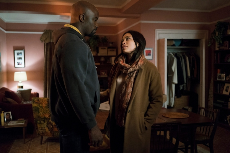Marvel's The Defenders Mike Colter Rosario Dawson Netflix