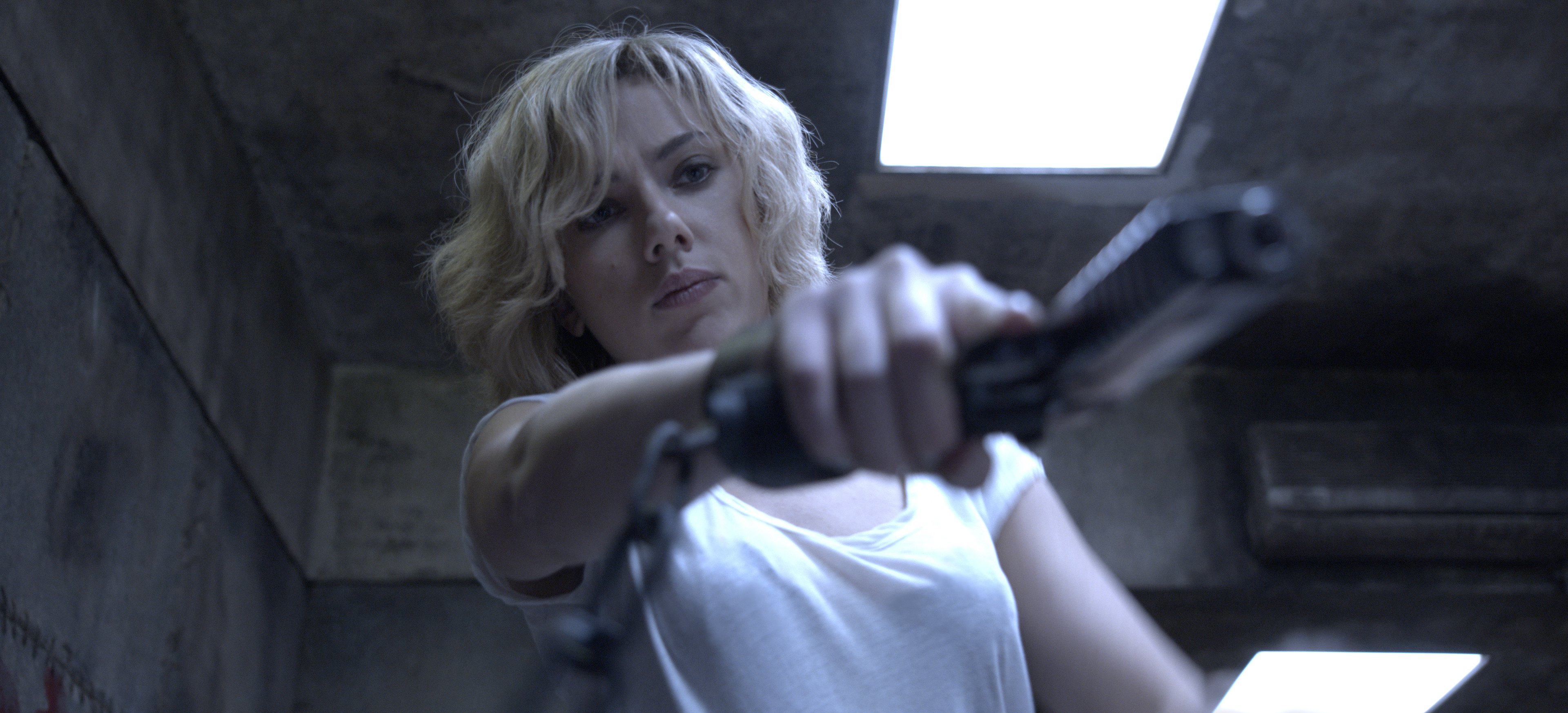 Writer/director Luc Besson directs SCARLETT JOHANSSON in ?Lucy?, an action-thriller that examines the possibility of what one human could truly do if she unlocked 100 percent of her brain capacity and accessed the furthest reaches of her mind.