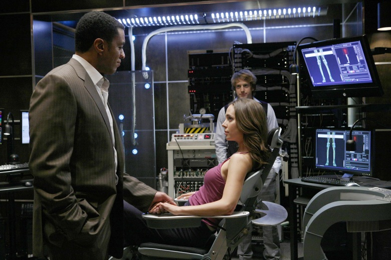 No Merchandising. Editorial Use Only. No Book Cover Usage.Mandatory Credit: Photo by 20th Century Fox TV/Kobal/REX/Shutterstock (5878815c) Harry Lennix, Topher Brink, Eliza Dushku Dollhouse - 2009 20th Century Fox TV USA Television