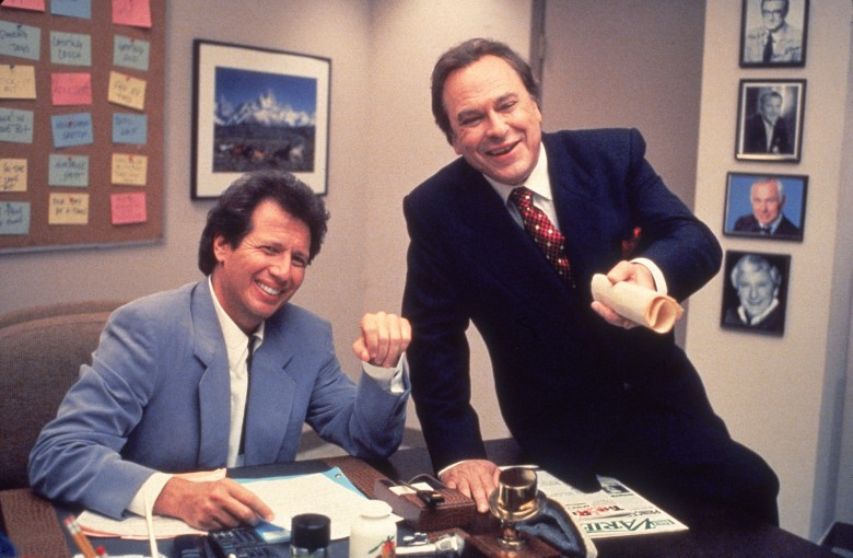 No Merchandising. Editorial Use Only. No Book Cover Usage.Mandatory Credit: Photo by Brillstein-Grey Prods./Kobal/REX/Shutterstock (5879665k) Garry Shandling, Rip Torn The Larry Sanders Show - 1992-1998 Brillstein-Grey Productions USA Television Tv Classics