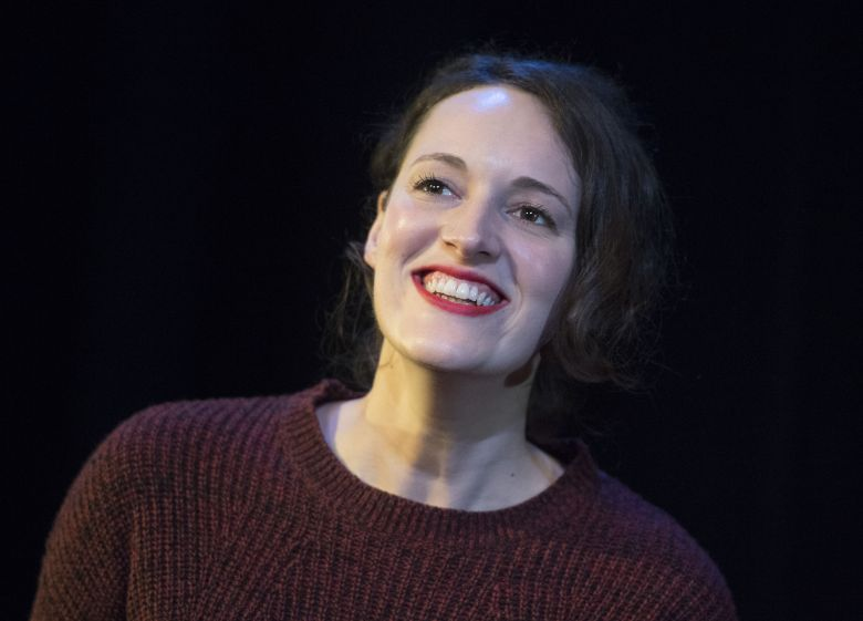 Editorial Use Only. No MerchandisingMandatory Credit: Photo by Alastair Muir/REX/Shutterstock (7549063c)Phoebe Waller-Bridge'Fleabag' performed by Phoebe Waller-Bridge at the Soho Theatre, London, UK, 06 Dec 2016