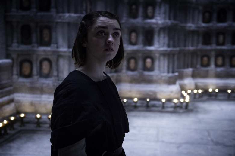 Game of Thrones Maisie Williams Season 5