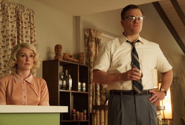 "Julianne Moore and Matt Damon, ""Suburbicon"""