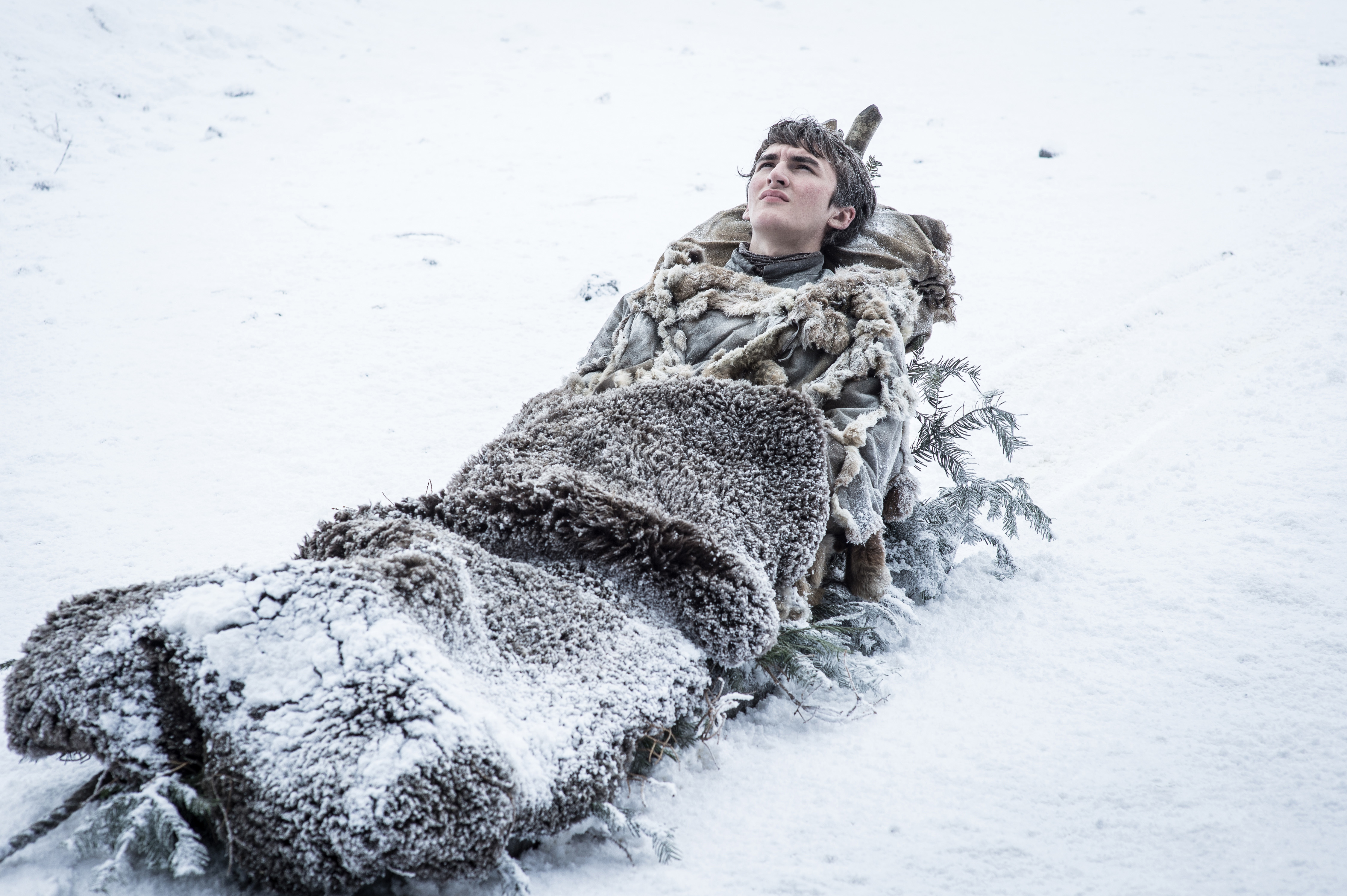 """Isaac Hempstead Wright as Bran in """"Game of Thrones"""" Helen Sloan/courtesy of HBO"""
