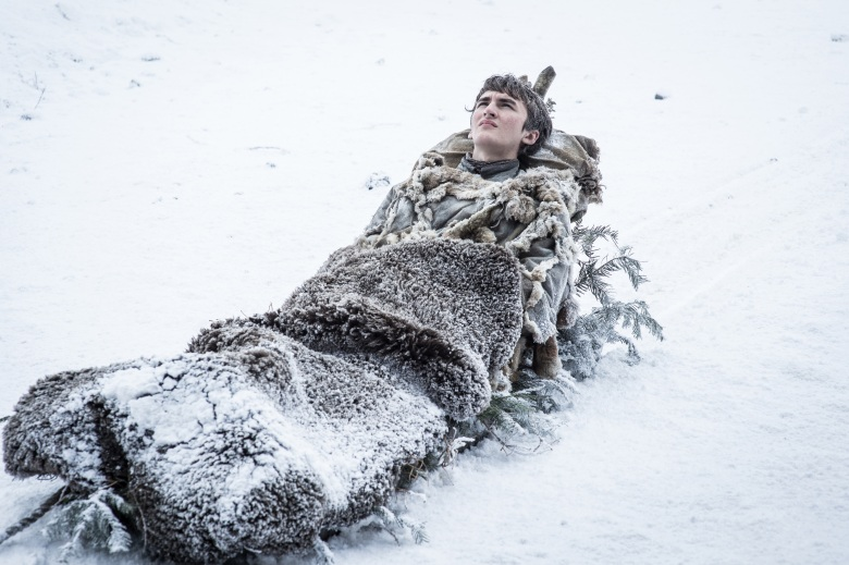 "Isaac Hempstead Wright as Bran in ""Game of Thrones"" Helen Sloan/courtesy of HBO"