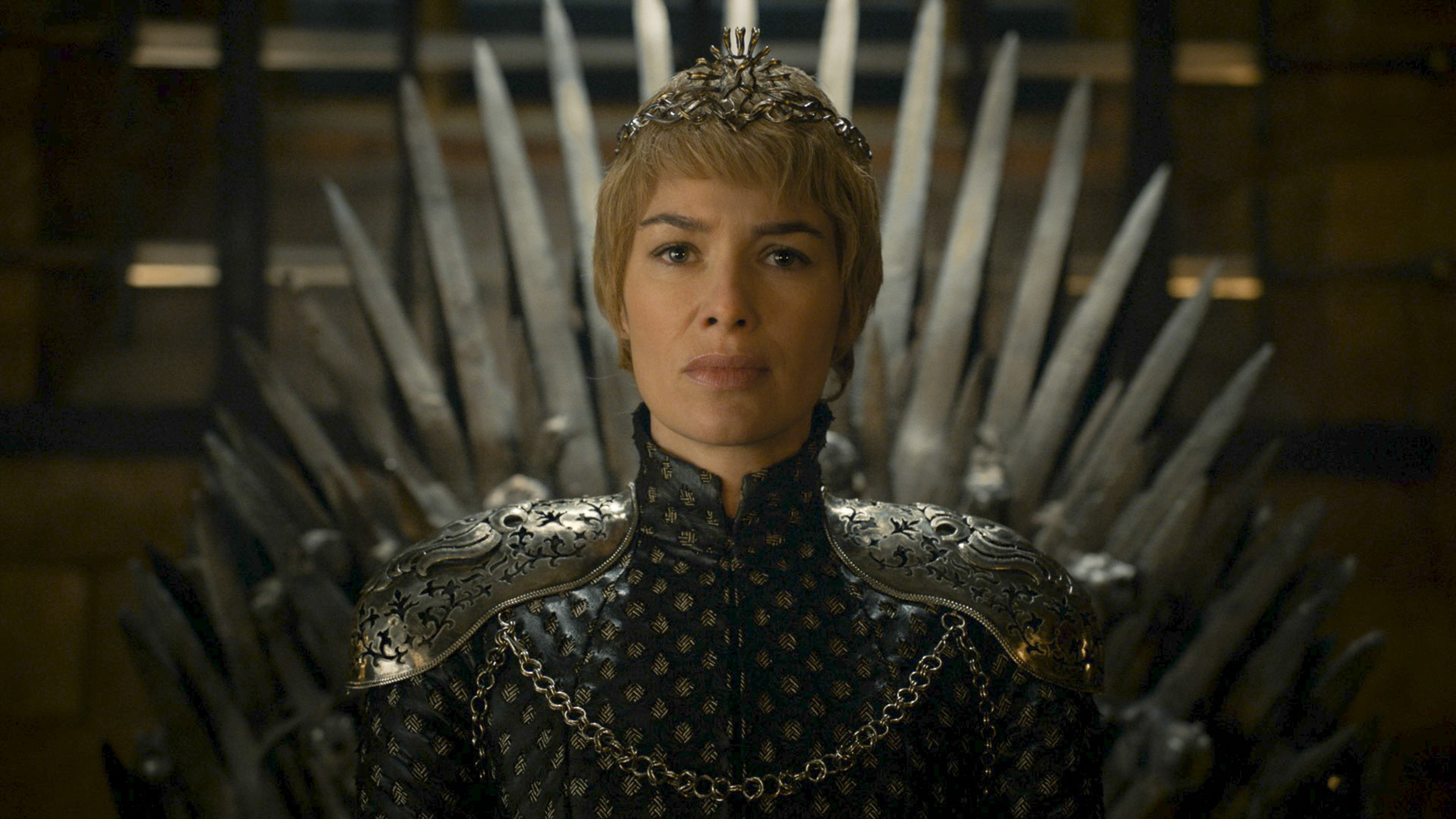 Game of Thrones HBO Cersei Iron Throne