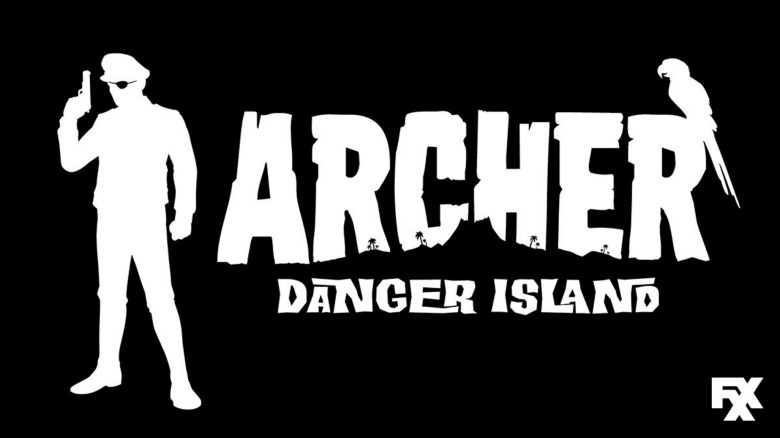 Archer: Danger Island Season 9 logo