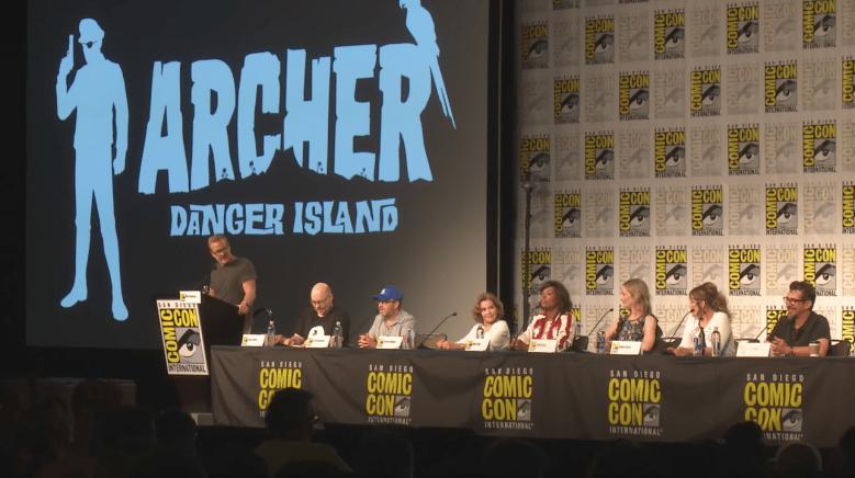 Archer Danger Island Season 9 Comic Con
