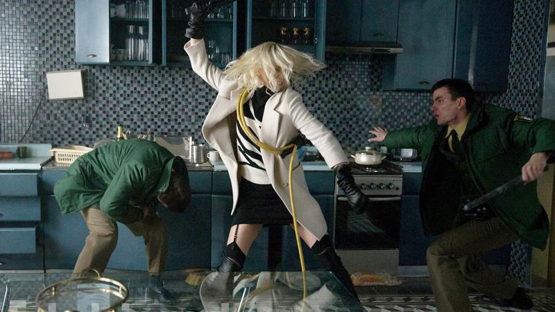 「Atomic blonde action」の画像検索結果