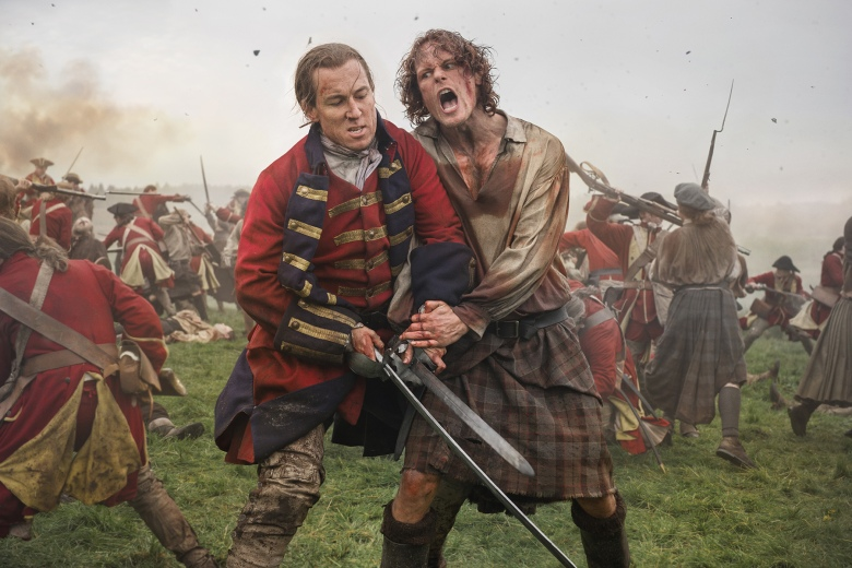 "Tobias Menzies and Sam Heughan, ""Outlander"""