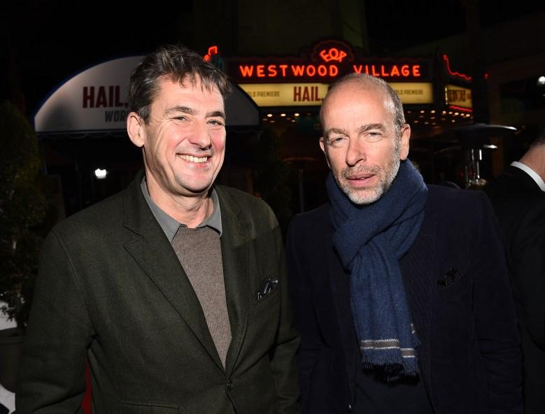 Tim Bevan and Eric Fellner'Hail, Caesar!' film premiere, Los Angeles, America - 01 Feb 2016