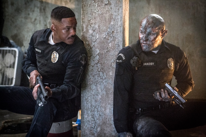 "Will Smith and Joel Edgerton, ""Bright"""