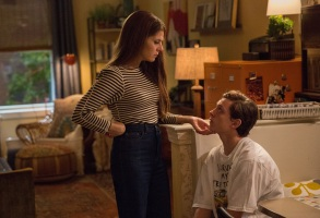 Marisa Tomei and Tom Holland in Columbia Pictures' SPIDER-MAN™: HOMECOMING.