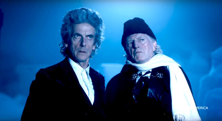 "Peter Capaldi and David Bradley, ""Doctor Who"""