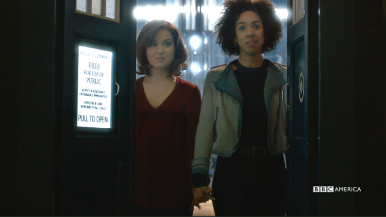 "Stephanie Hyam and Pearl Mackie, ""Doctor Who"""