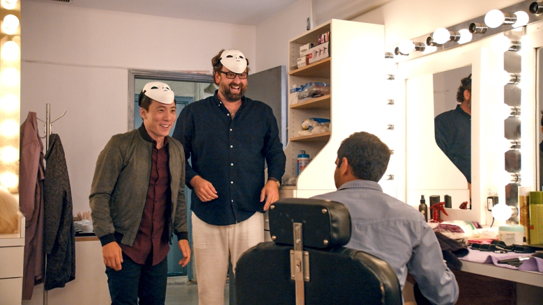 "Kelvin Yu, Eric Wareheim and Aziz Ansari, ""Master of None"""