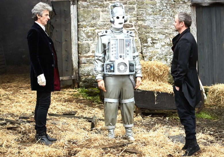 "Peter Capaldi and John Simm, ""Doctor Who"""