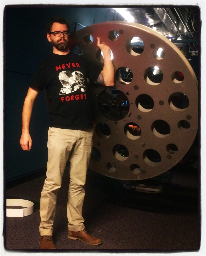 """Hateful Eight"" Projectionist Jason Garnett"