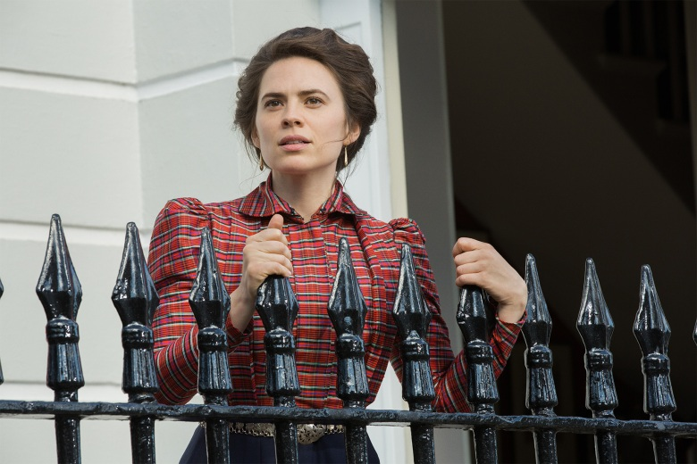 "Hayley Atwell in ""Howards End"""