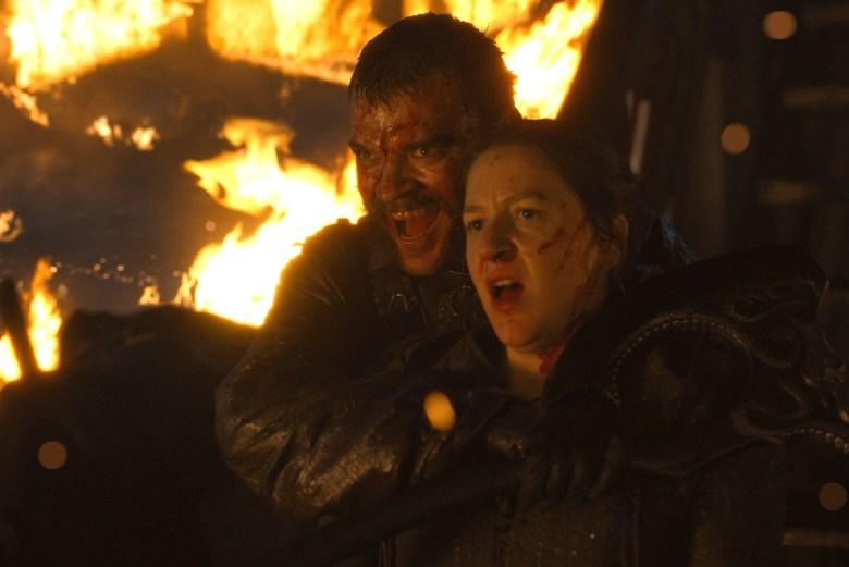 "Pilou Asbaek and Gemma Whelan, ""Game of Thrones"""