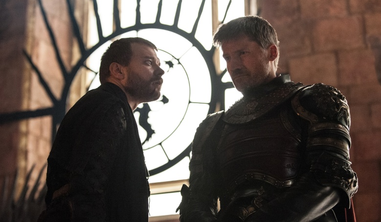 """Game of Thrones"" Euron Greyjoy Jaime Lannister"