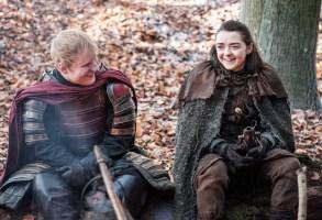 Game of Thrones Season 7 Episode 1 Ed Sheeran Maisie WIlliams