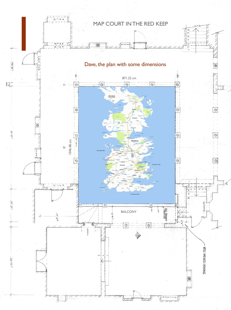 Game Of Thrones Inside The Making Of Cerseis Westeros Conquest Map