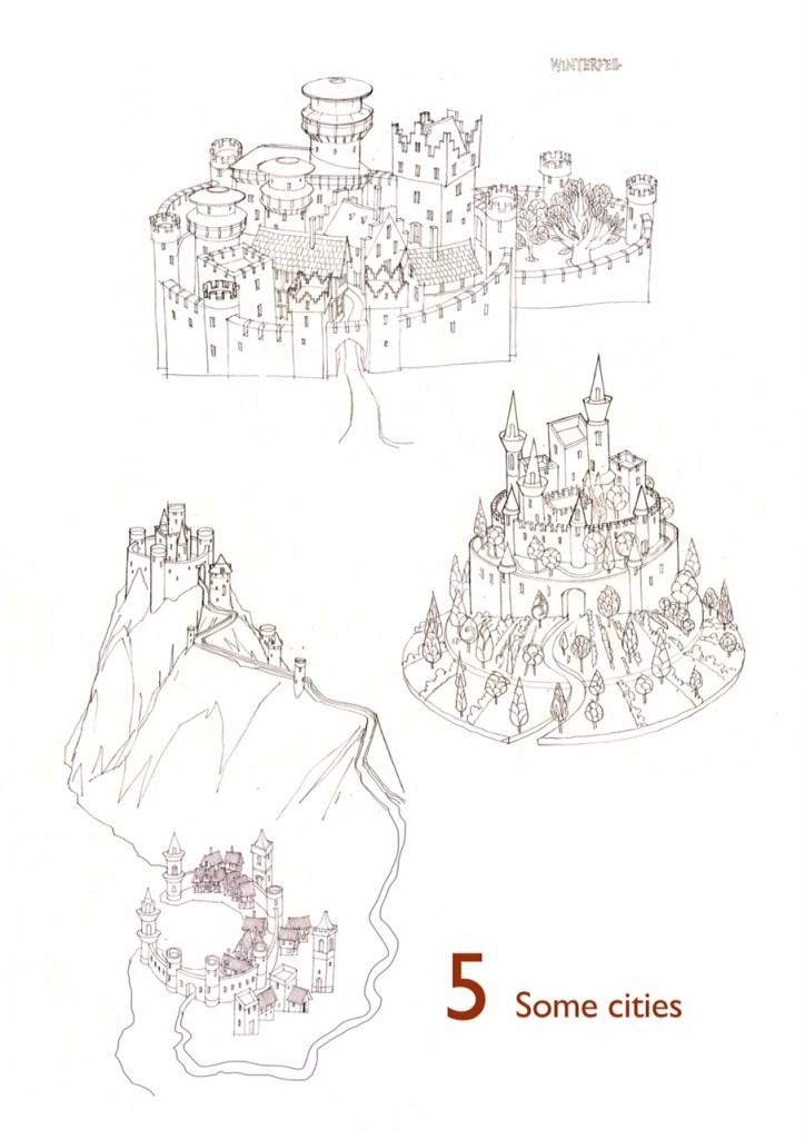 """Game of Thrones"" map design"
