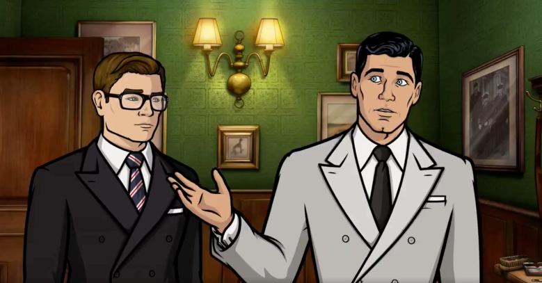 """Kingsman"" meets ""Archer"""