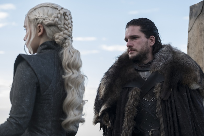 """Game of Thrones"" Season 7 Episode 3 ""The Queen's Justice"" Jon Snow Daenerys Targaryen"