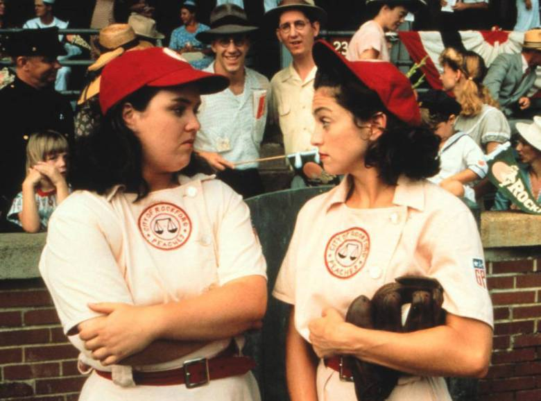 a league of their own gay lesbian queer lgbt madonna rosie