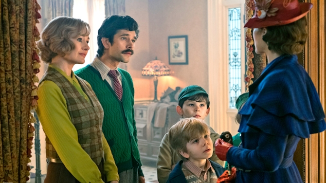Mary Poppins Returns: Designing a Depression