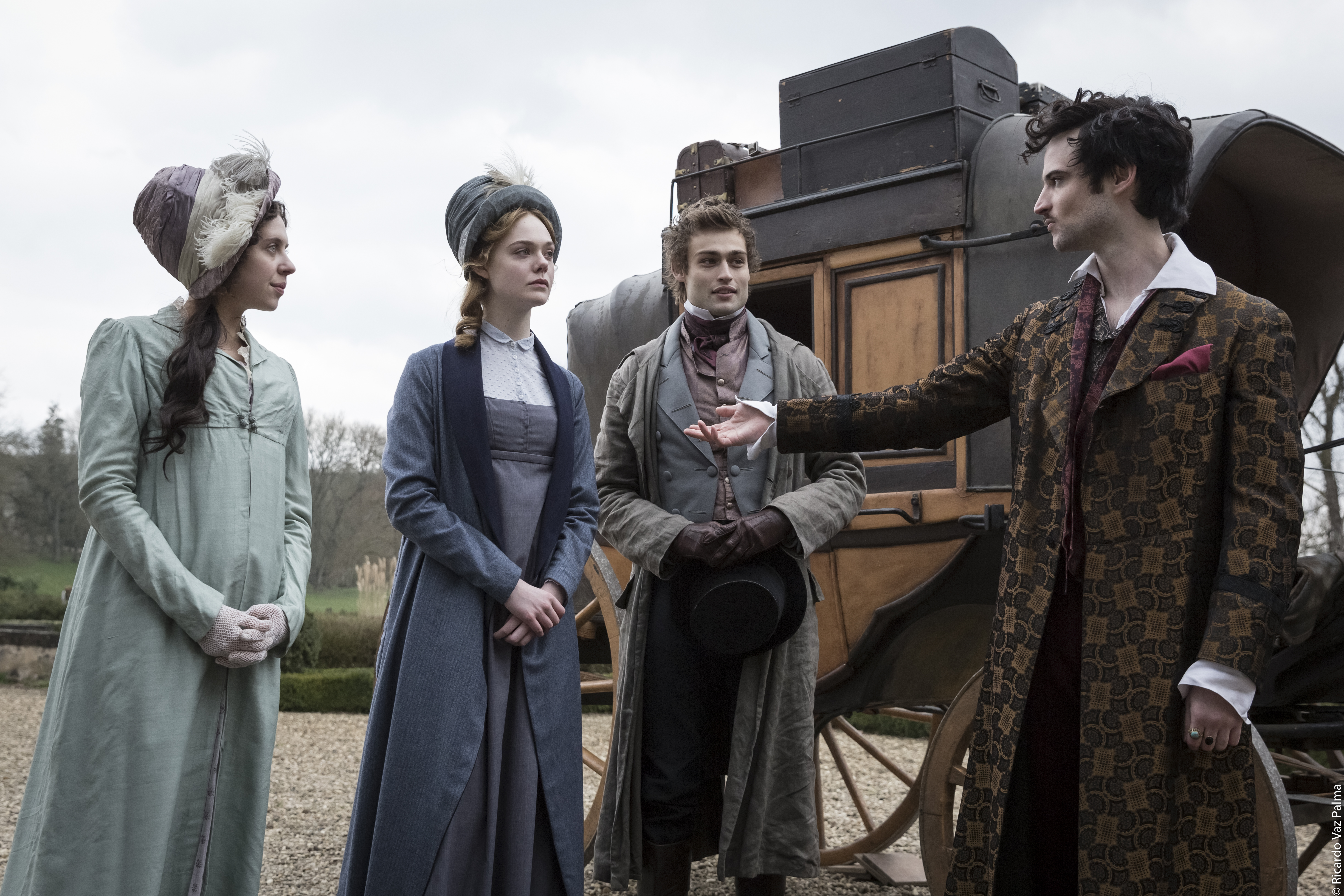 See Elle Fanning Create Frankenstein in Passionate First Trailer for Mary Shelley