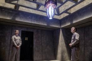Noah Taylor as Adolf Hitler, Ian Colletti as Eugene - Preacher _ Season 2, Episode 4 - Photo Credit: Skip Bolen/AMC