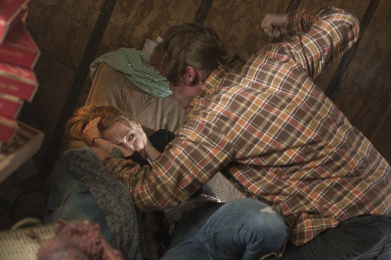 "Amanda Seyfried and Caleb Landry Jones, ""Twin Peaks"""