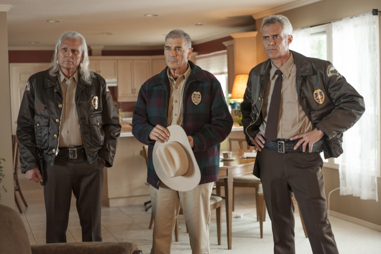 "Michael Horse, Dana Ashbrook and Robert Forster, ""Twin Peaks"""