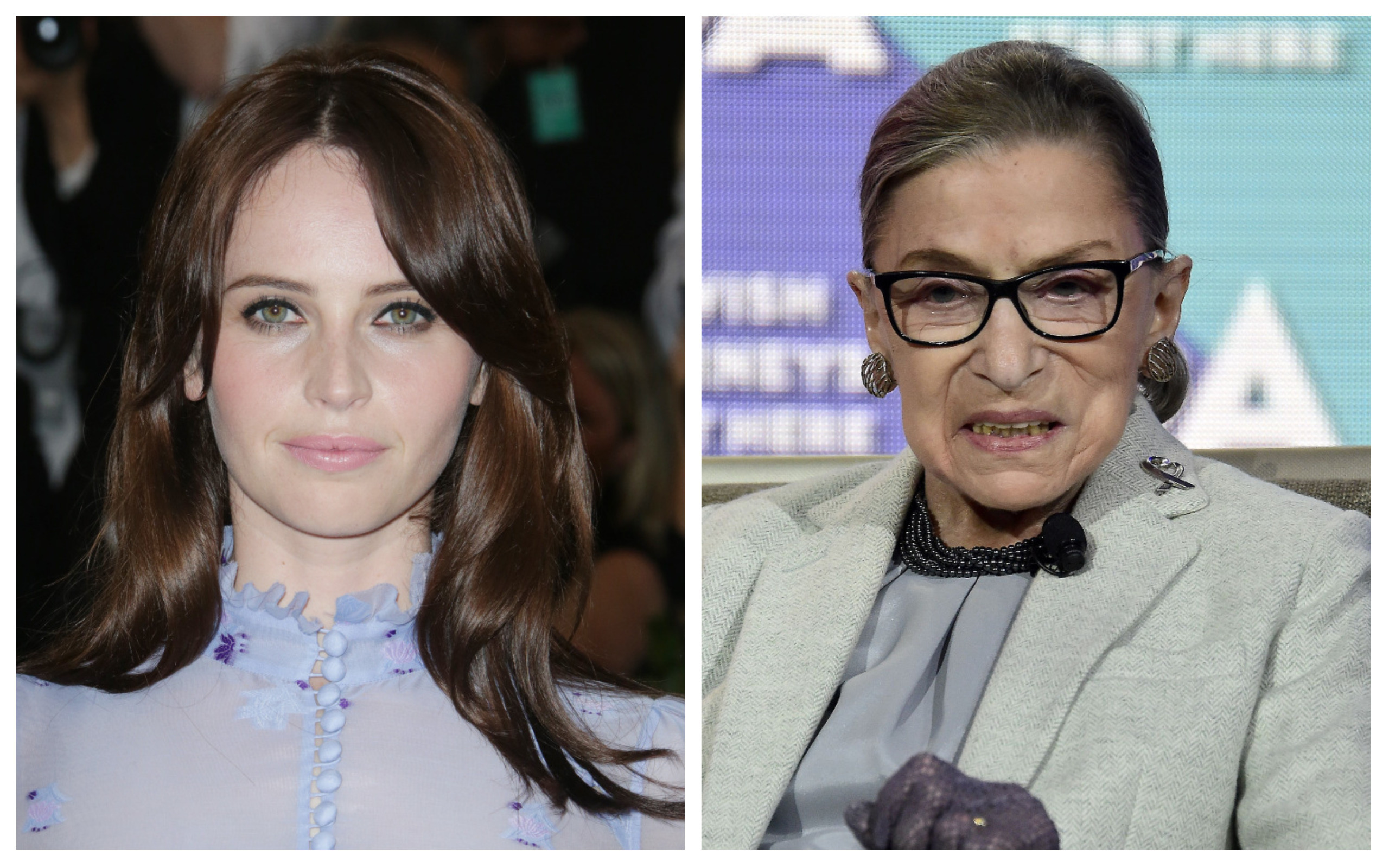 Felicity Jones Will Play Ruth Bader Ginsburg In On The Basis Of Sex Indiewire