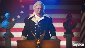 Alec Baldwin George Washington Impression