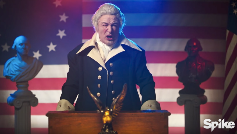 Alec Baldwin George Washington Impression