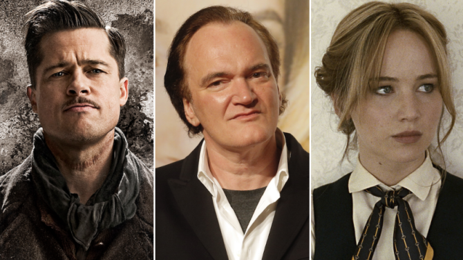 Quentin Tarantino Wants Brad Pitt and Jennifer Lawrence For New