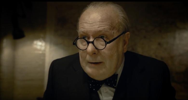 'Darkest Hour' Trailer: Gary Oldman Transforms Into ... Emmy Nomination