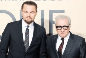 Leonardo DiCaprio and Martin Scrosese